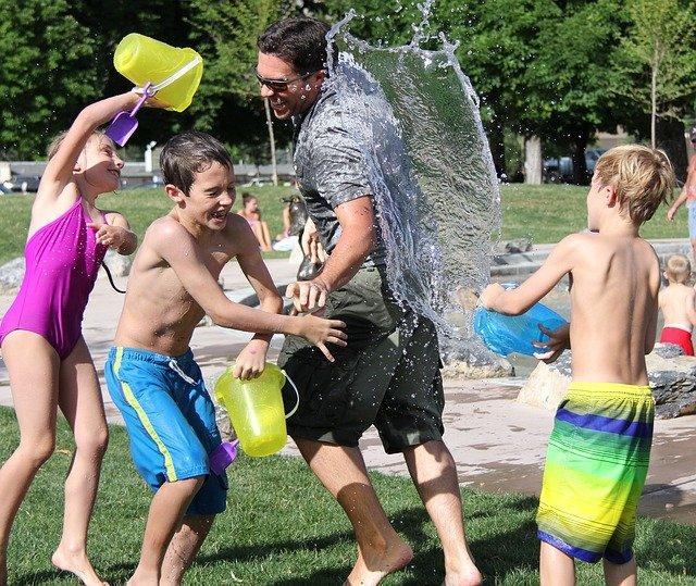 Nyáron a legnépszerűbbek a vizes játékok